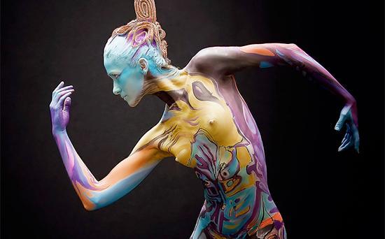 Kryolan Airbrush Body Paint